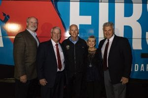 Governor Rick Scott with the Vac-Con team