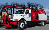 Sewer Jetting Truck from Vac-Con