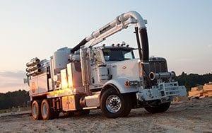 Hydro Excavators Truck