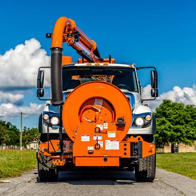 Single Engine Combination Machine Vacuum Truck