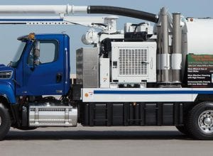 Dual Engine Combination Machine  Vacuum Truck