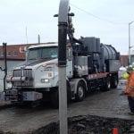 Hydro Excavators - XX-Cavator at work sucking up debris