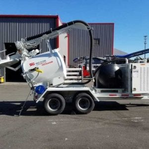 trailer mounted combination machine from vac-con