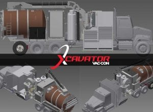 The New X-Cavator Hydrovac Excavation Truck