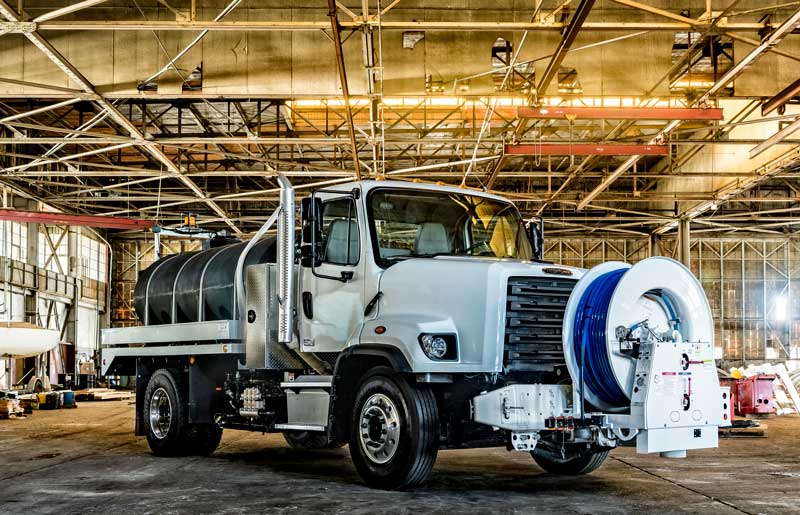 Applications for Sewer Jet Trucks in Municipalities