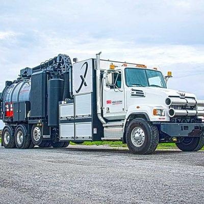 X-Cavator Hydrovac Vacuum Truck
