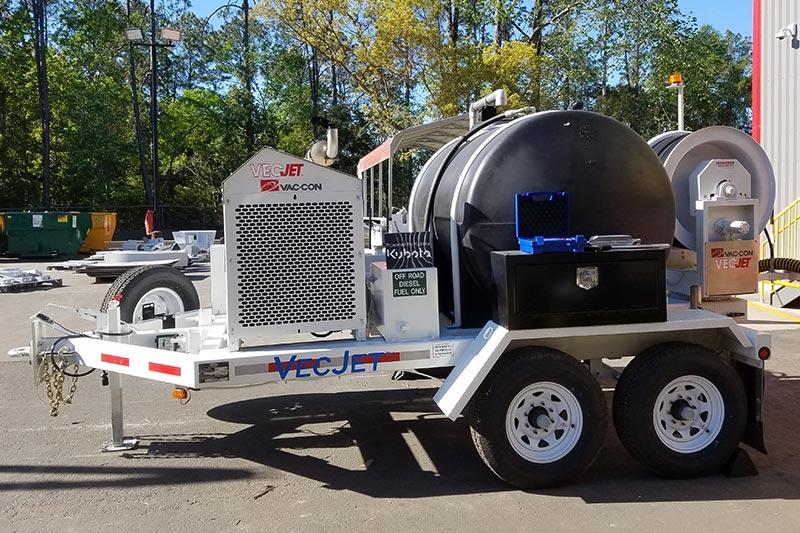 covid-jetter trailer